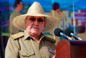Raúl Castro durante el discurso por la celebración del 26 de Julio