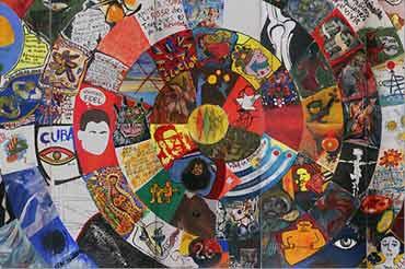 Imagen del mural Cuba Colectiva