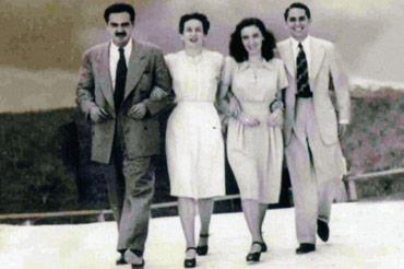 Eliseo Diego, Bella y Fina García Marruz y Cintio Vitier