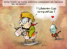 Epopeya, caricaturas de Garrincha