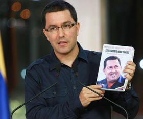 El vicepresidente venezolano Jorge Arreaza