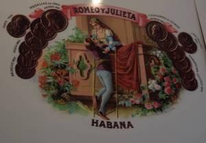 Romeo and Julieta cigars
