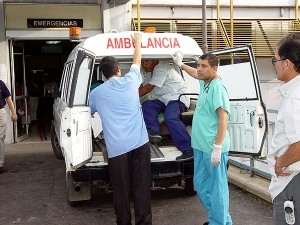 La ambulancia que nunca llegaba