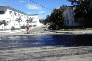 Avenida Boyeros y Calzada de Bejucal_pavimentación_foto del autor