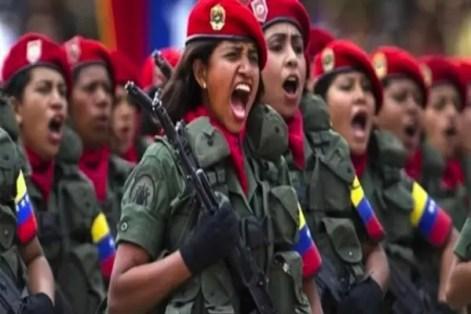 Resultado de imagen para foto de militares en venezuela