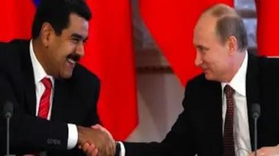 Maduro firma acuerdos con Rusia y China