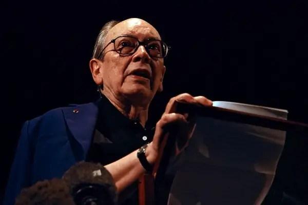 Cuban intellectual Alfredo Guevara deliv