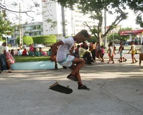 Acrobacias con el skate