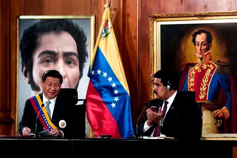 Maduro-con-presidente-de-China-Xi-Jinping