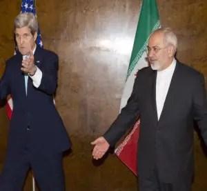 Kerry y Zarif en Suiza