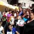Opositores recordando a Huber Matos (foto del autor)