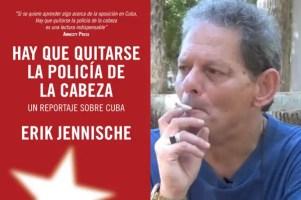 A la izquierda portada de libro de Erik Jennische y a la derecha Manuel David Orrio