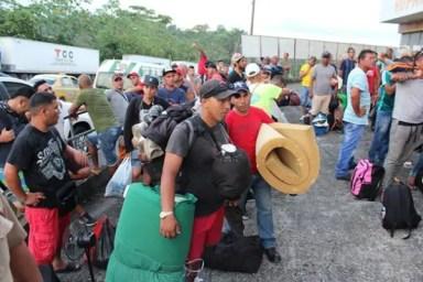Cubanos en Panamá (foto tomada de Internet)