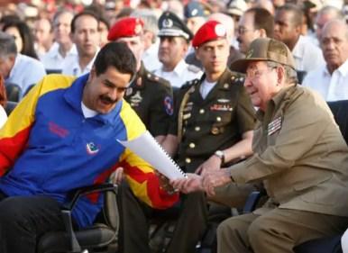 Maduro Raul Castro