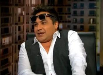 Robertico en la televisión de Miami (Foto: mega.tv)