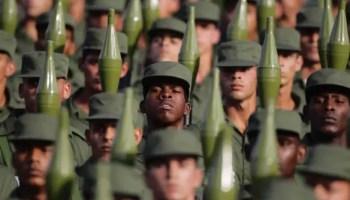 Reclutas del Servicio Militar Activo (foto: Reuters)