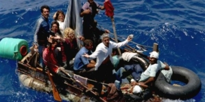 """Aun sin """"pies secos, pies mojados"""" los cubanos siguen lanzándose al mar"""