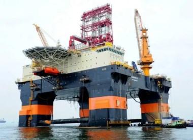Plataforma petrolera cubana en aguas del Golfo de México (Foto: Keppel Offshore and Marine/Reuters)