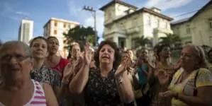 Realizan acto de repudio a periodista independiente Héctor Luis Valdés Cocho
