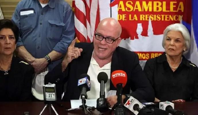 Orlando Gutiérrez Boronat responde con abogados amenazas de Edmundo García