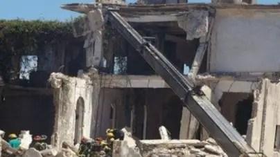Muertos y heridos por derrumbe en Caibarién