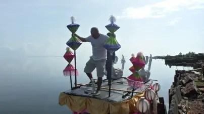 Carnaval acuático en la Villa Blanca
