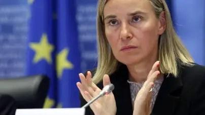 """De visita en Cuba, Mogherini la emprende contra el """"bloqueo"""" de EEUU"""
