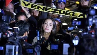 María Corina Machado pide a Bolsonaro presionar al régimen de Maduro