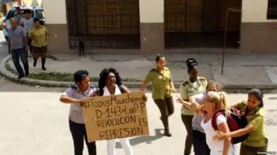 """""""Nuestro objetivo no es solo liberar a los prisioneros políticos, sino a Cuba"""""""