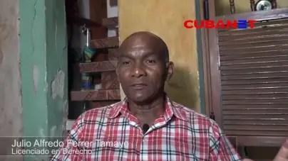 Oposición en Cuba: Julio Ferrer, del estrado al banquillo