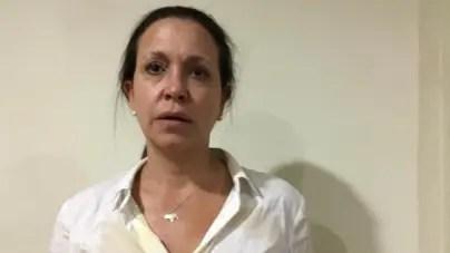 Colectivos armados de régimen venezolano agreden a opositora Maria Corina Machado