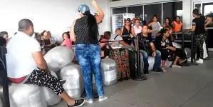 Golpe a la reunificación familiar: régimen suspende vuelos hacia Guyana