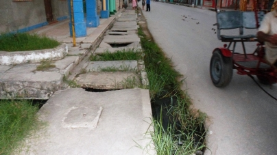Caibarién: avenidas inconclusas y aceras mortíferas para peatones