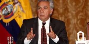Lenín Moreno reduce en un 50% su sueldo y el de su gabinete por coronavirus