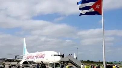 Caribbean Airlines anuncia reinicio de vuelos regulares entre Guyana y Cuba