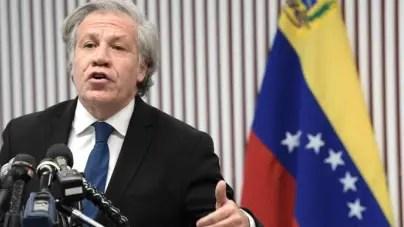 """Almagro dice que la pandemia es """"funcional"""" a la """"dictadura"""" en Venezuela"""