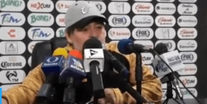 Federación Mexicana de Fútbol multa a Maradona por dedicar triunfo a Maduro