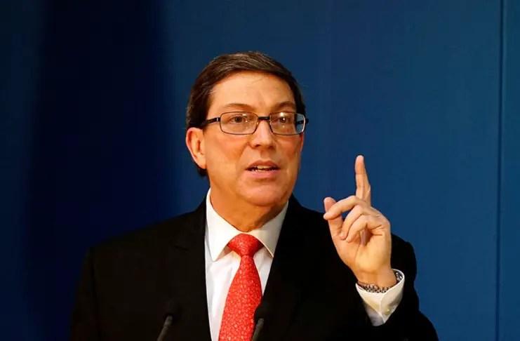 Bruno Rodríguez Donald Trump elecciones