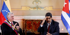 """Maduro condena """"continua agresión"""" de EEUU """"contra pueblo y gobierno de Cuba"""""""