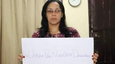 Convocan a apoyar campaña #UnidasPorNuestrosDerechos