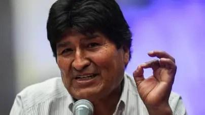 """Morales reconoce que no viajó a Cuba por temas de salud: """"Fui a una reunión"""""""