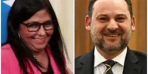 Denuncian reunión secreta en Madrid entre Delcy Rodríguez y ministro español