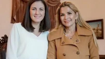 Rosa María Payá se reune con presidente interina de Bolivia