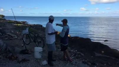 Pescadores de playa y las muchas hambres del hombre