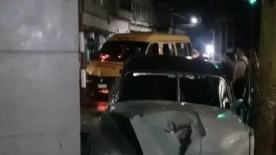 Dos heridos en accidente de tránsito frente a mercado de Cuatro Caminos