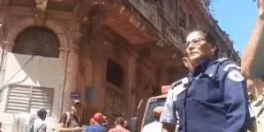 Un muerto y un lesionado por derrumbe en Habana Vieja