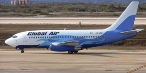 Régimen prohíbe aterrizar en Cuba a aeronave vinculada a empresa Global Air