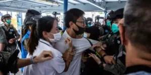 "Sancionan a funcionarios de China y Hong Kong por ""desmantelar libertades"""
