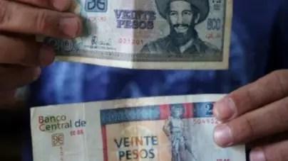 ¡Cuidado si cambia la cotización entre los dos pesos cubanos!
