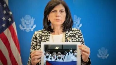 Mara Tekach: Médicos cubanos merecen una paga y un trato justo